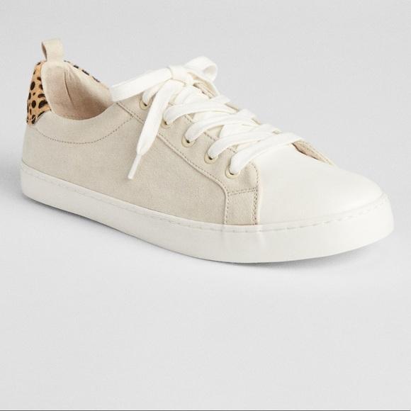 GAP Shoes | Gap Leopard Print Lace Up